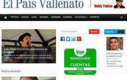 El País Vallenato tiene nuevo diseño
