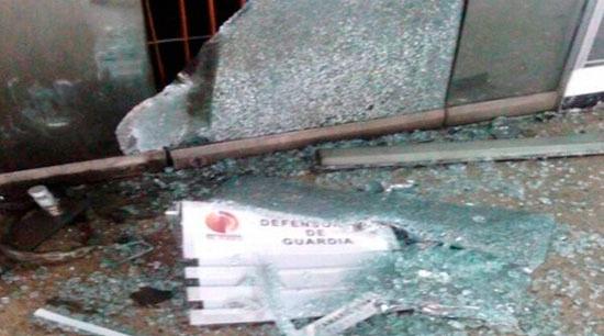 Defensoría del Pueblo fue atacada en San Cristobal