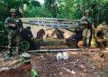 Incautan material explosivo y granadas en La Guajira