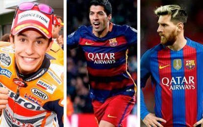 Márquez, Messi y Suárez se unen contra el cáncer infantil