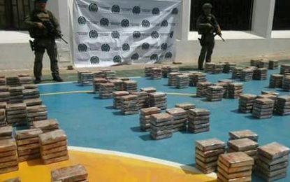 Incautan 600 kilos de cocaína del Clan del Golfo en La Guajira