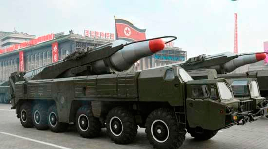 Corea del Norte lanza misil que sobrevuela Japón