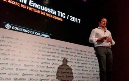 El 75% de los colombianos usó Internet en el último año