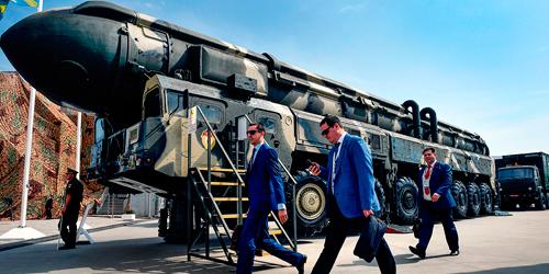 Afilan sus garras: Rusia lanza misil tipo Yars