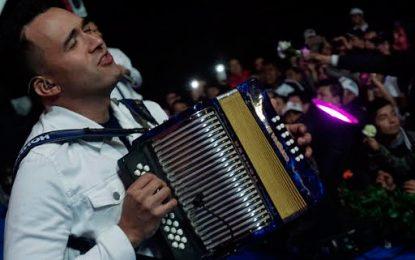 La música vallenata se hizo sentir en la visita del Papa Francisco