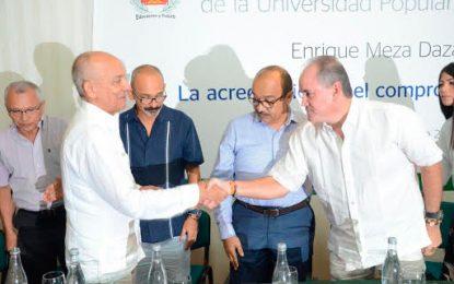 UPC, la universidad de todos, dijo rector Enrique Meza, tras tomar posesión