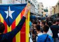 Protestas en Cataluña por suspensión de la autonomía
