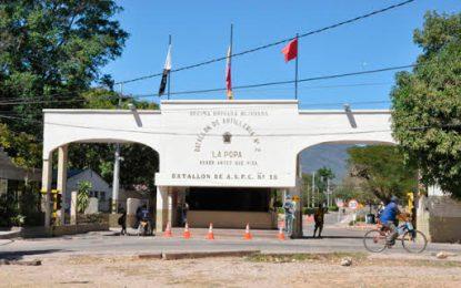 En huelga de hambre exmilitares encarcelados en el Batallón La Popa de Valledupar