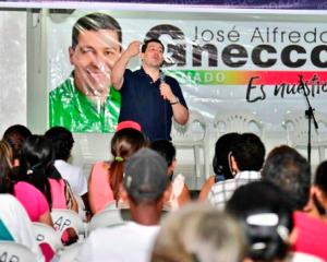 Jornada de valiosas adhesiones y de reconocimientos al trabajo de José Alfredo Gnecco