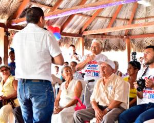 Mientras que, en el Cesar, ratificó apoyo a Didier Lobo,La Guajira unida por candidato CR 18