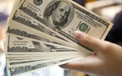 El dólar se cotiza a la baja