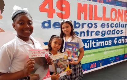 Mineducación entregará 174.098 textos escolares gratis en Cesar