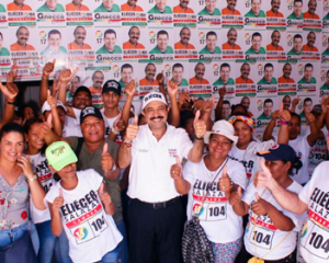 Contundente respaldo recibe Eliécer Salazar, U 104, en Tamalameque y su zona rural