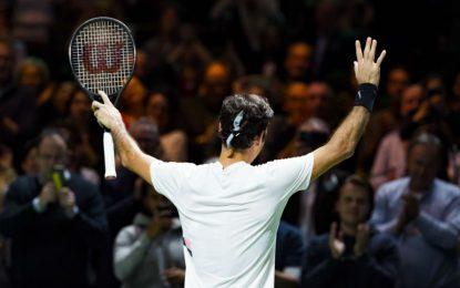 Federer sigue agrandando su leyenda: ganó en Rotterdam el título 97 en su carrera