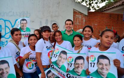 A su paso por cada municipio del Cesar, la gente agradece gestión de José Alfredo Gnecco.