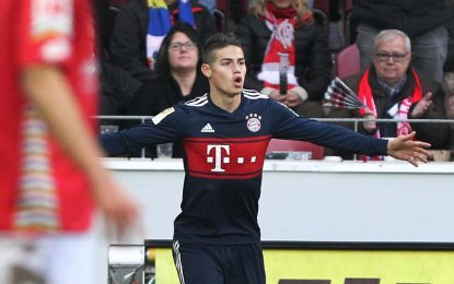 El Bayern de James Rodríguez pasa a semifinales de la Copa alemana