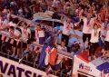 Croacia, y un recibimiento acorde al logro