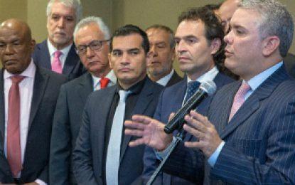Alcaldes se reunieron con Iván Duque para tratar temas de seguridad y movilidad
