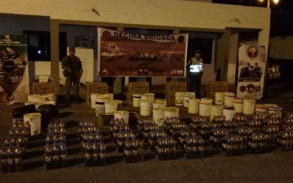 Incautados lácteos de contrabando en la Guajira