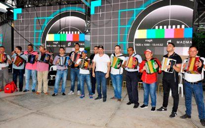 Reyes del acordeón actuarán en revista musical en Inauguración del Festival de la Leyenda Vallenata