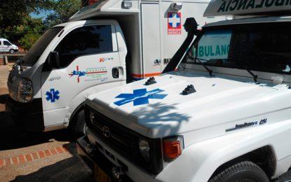 Gobernador entrega 17 nuevas ambulancias a la Red Pública Hospitalaria del Cesar