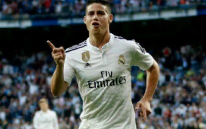 James se convirtió en el primer colombiano en ganar La Liga española con el Real Madrid