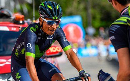 Nairo Quintana, termina segundo en la decimoquinta etapa del Giro