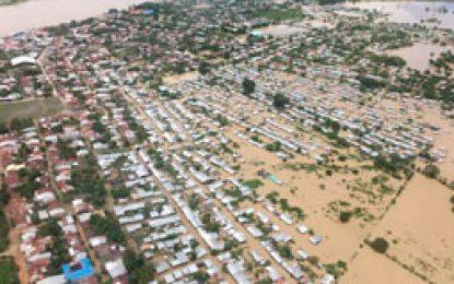 11.000 personas damnificadas en Nechí por invierno; 48 municipios inundados en Antioquia