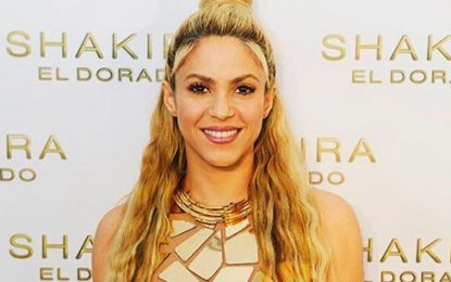 Shakira anuncia gira mundial 'El dorado'