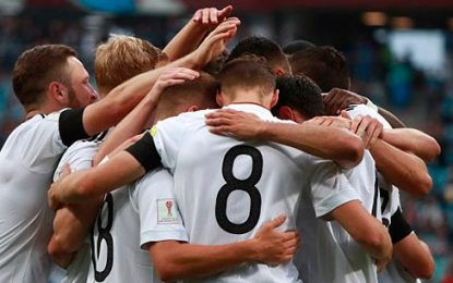Alemania vence a Australia 3-2 en debut en Copa Confederaciones