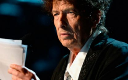 Bob Dylan envió discurso de aceptación del Nobel por medio de un audio