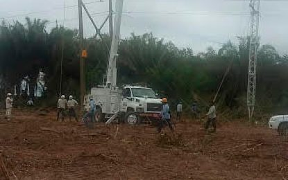 Superada emergencia eléctrica en el sur del Cesar, Magdalena y Bolívar