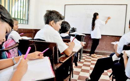 Docentes repondrán clases en semana de receso escolar en Valledupar