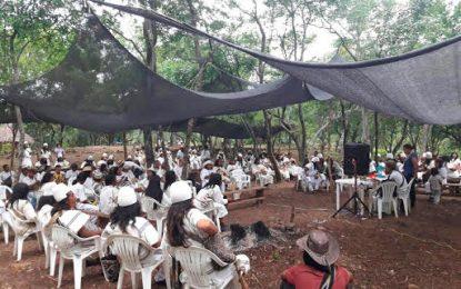Indígenas participan en encuentro Cultural de la Sierra Nevada en Atánquez