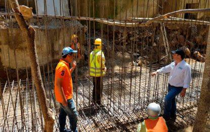 Avanzan trabajos en obras del tramo final de la Vía a Pueblo Bello