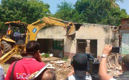Destruyen olla de consumo de droga en Valledupar