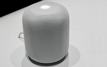 Apple presenta su HomePod y entra en el negocio de los asistentes de voz