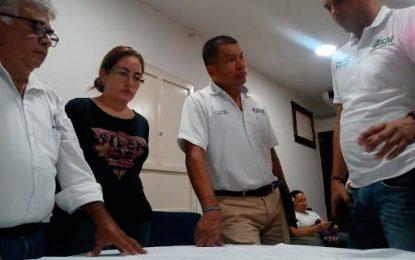 Aguas del Cesar socializó la construcción del alcantarillado sanitario en San Alberto