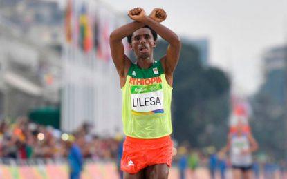 Feyisa Lilesa ganó la Media Maratón de Bogotá