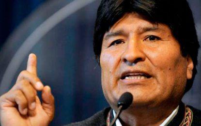Evo Morales critica a Colombia y otros países por desconocer votación en Venezuela