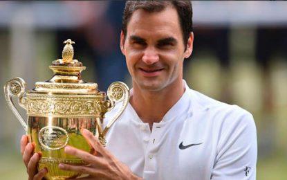 Roger Federer conquistó el torneo de Wimbledon por octava vez