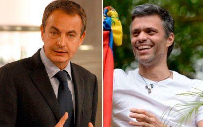Leopoldo López se reunió con Zapatero y manifestó preocupación por la Constituyente