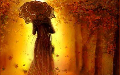 Rosenda cultiva truenos con la lluvia.