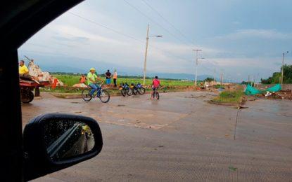 Fuerte aguacero obligó cierre temporal del aeropuerto Alfonso López de Valledupar