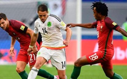 Portugal vence a México y queda tercero en la Copa Confederaciones