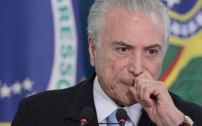 Joven borracha intenta invadir residencia del presidente Temer en Brasilia