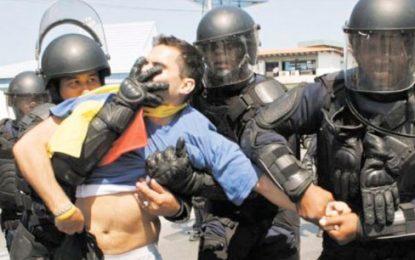 Colombia rechaza represión y violencia de fuerzas del Estado en Venezuela