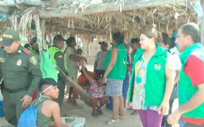 Gemelas wayuu en estado de desnutrición fueron rescatadas en La Guajira