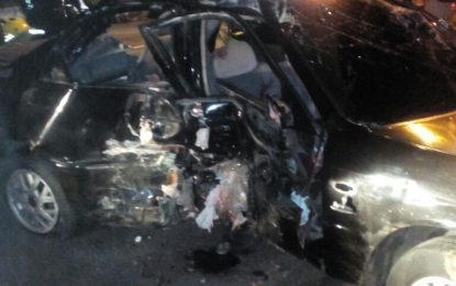 Cinco heridos en grave accidente en Valledupar