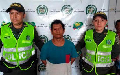 En Valledupar capturan a uno de los más buscados en Santa Marta